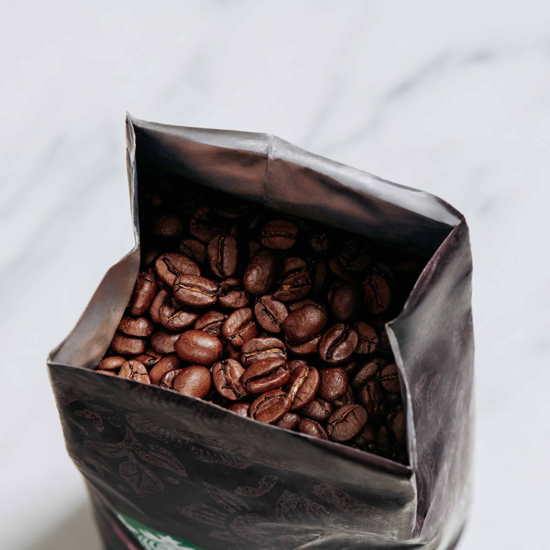 Coffee Beans Whole - Overhead
