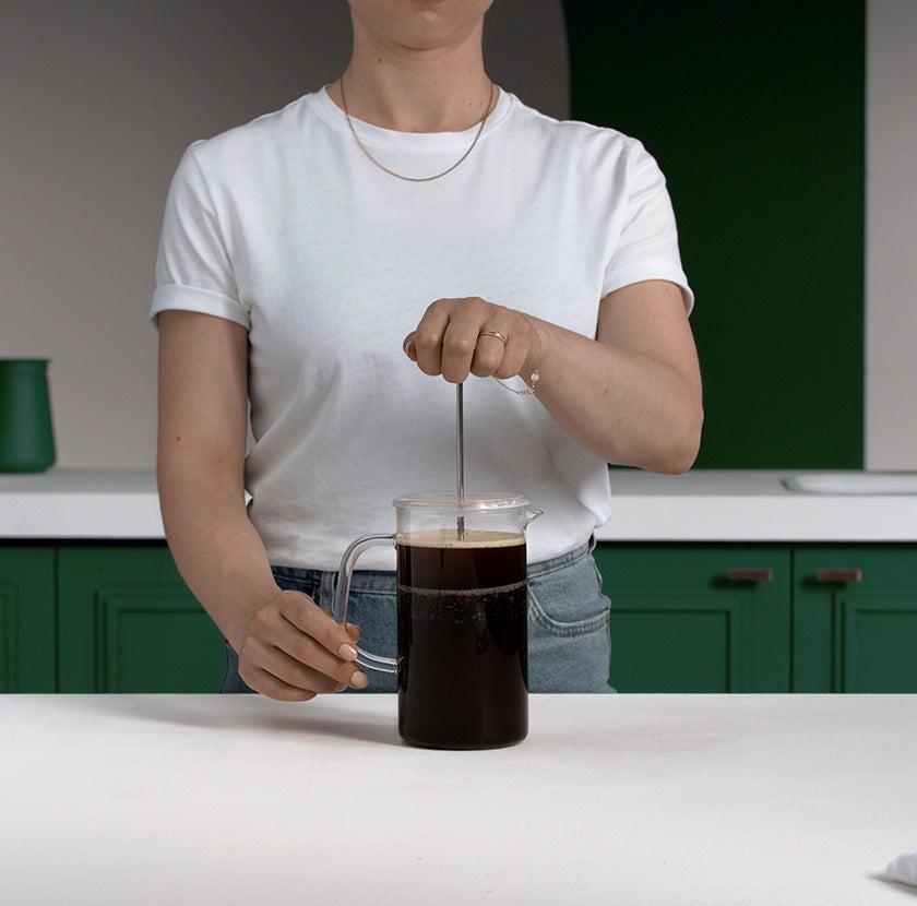 Coffee Press Step 6