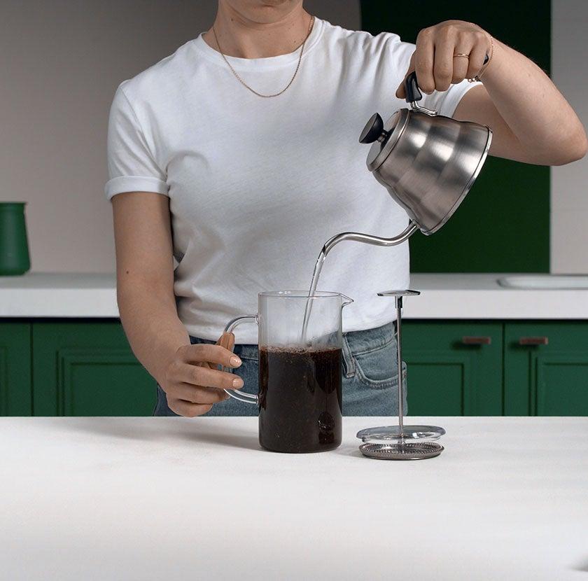 Coffee Press Step 3