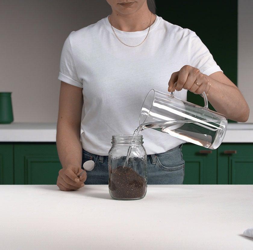 Cold Brew Mason Jar Step 2
