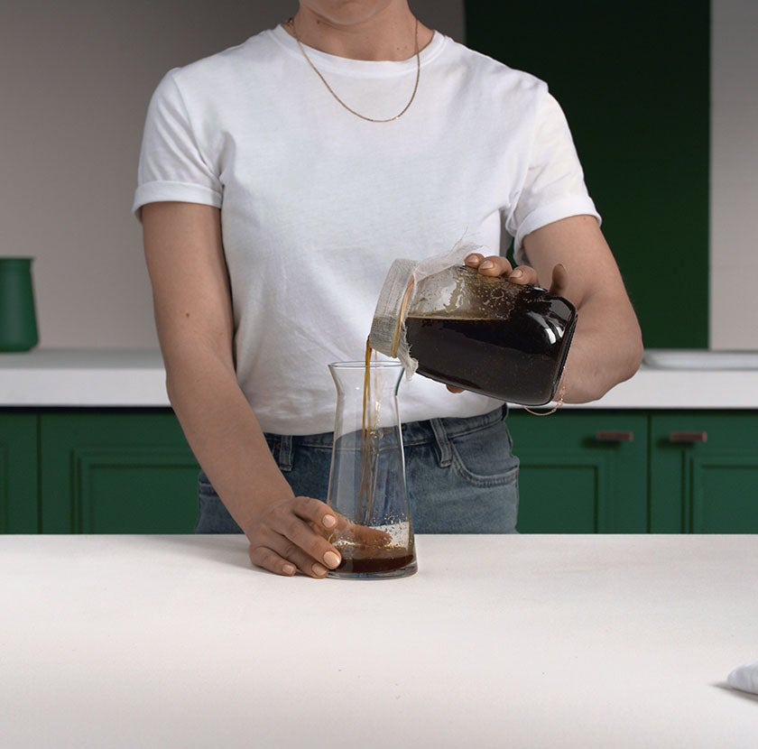 Cold Brew Mason Jar Step 5