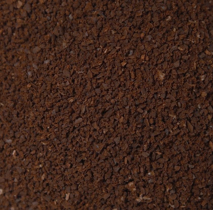 Fine ground coffee