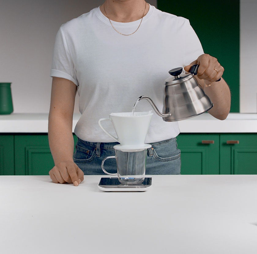 Pour Over Step 2