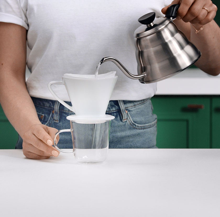 Pour Over Step 4