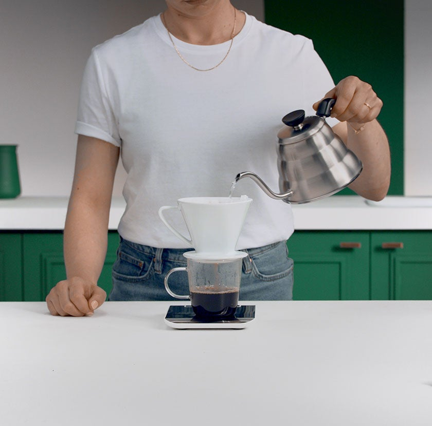 Pour Over Step 6