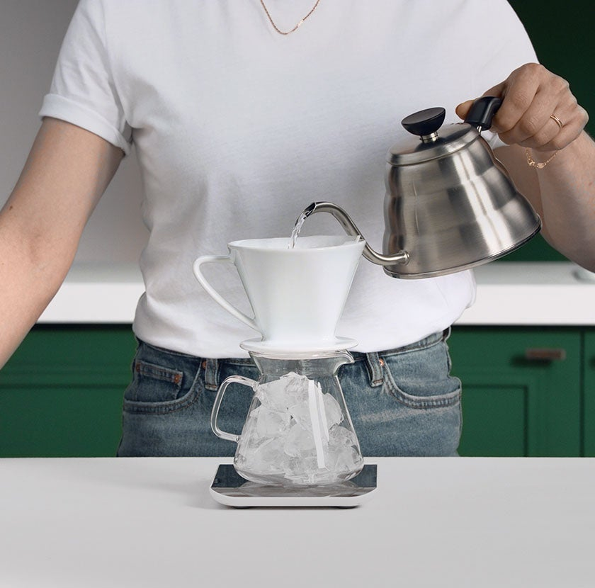 Iced Pour Over Step 5