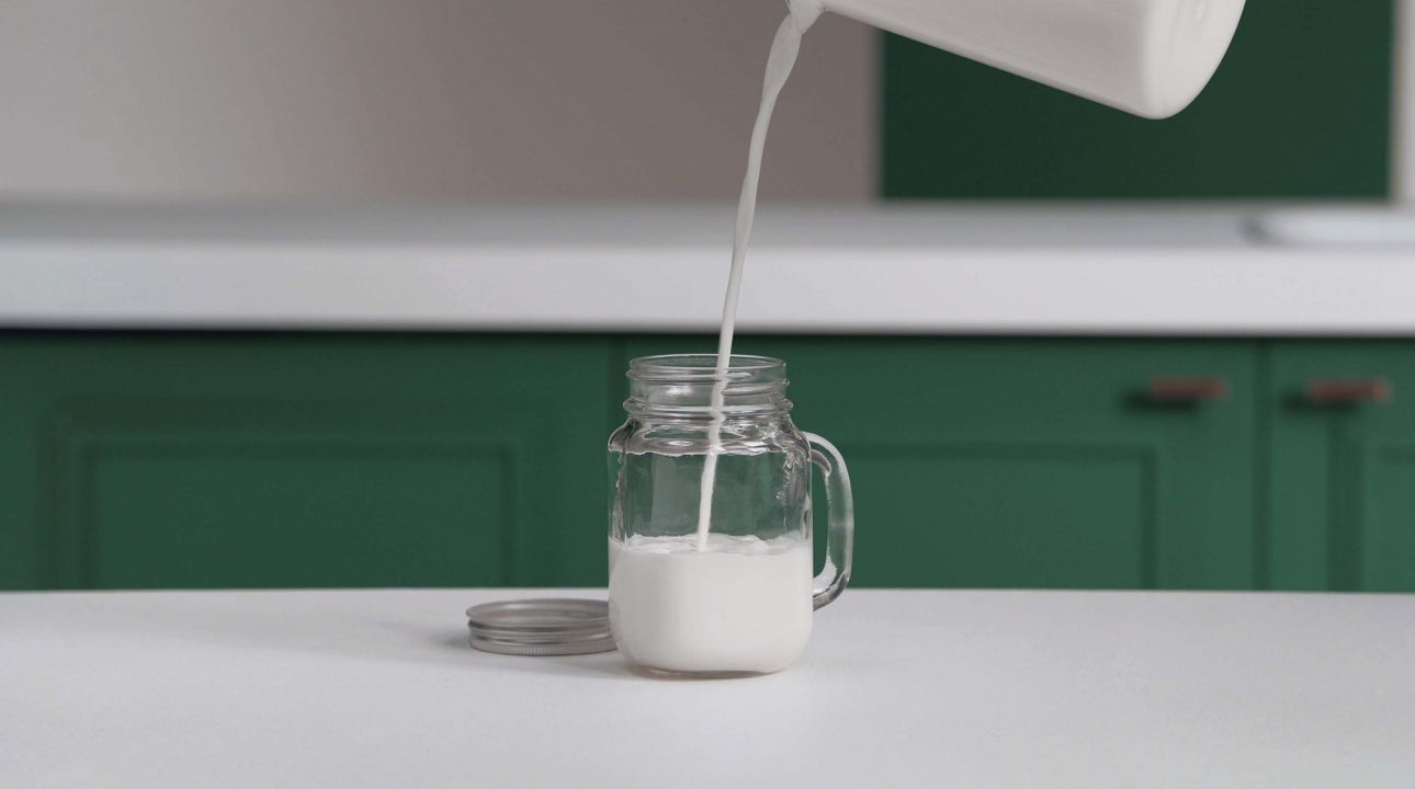 How to Froth Milk with a Mason Jar header
