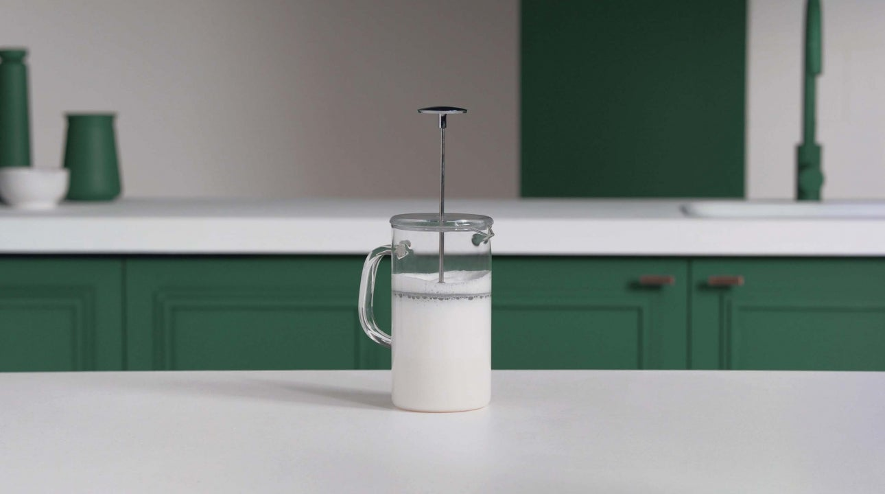 How to Froth Milk with a Coffee Press header
