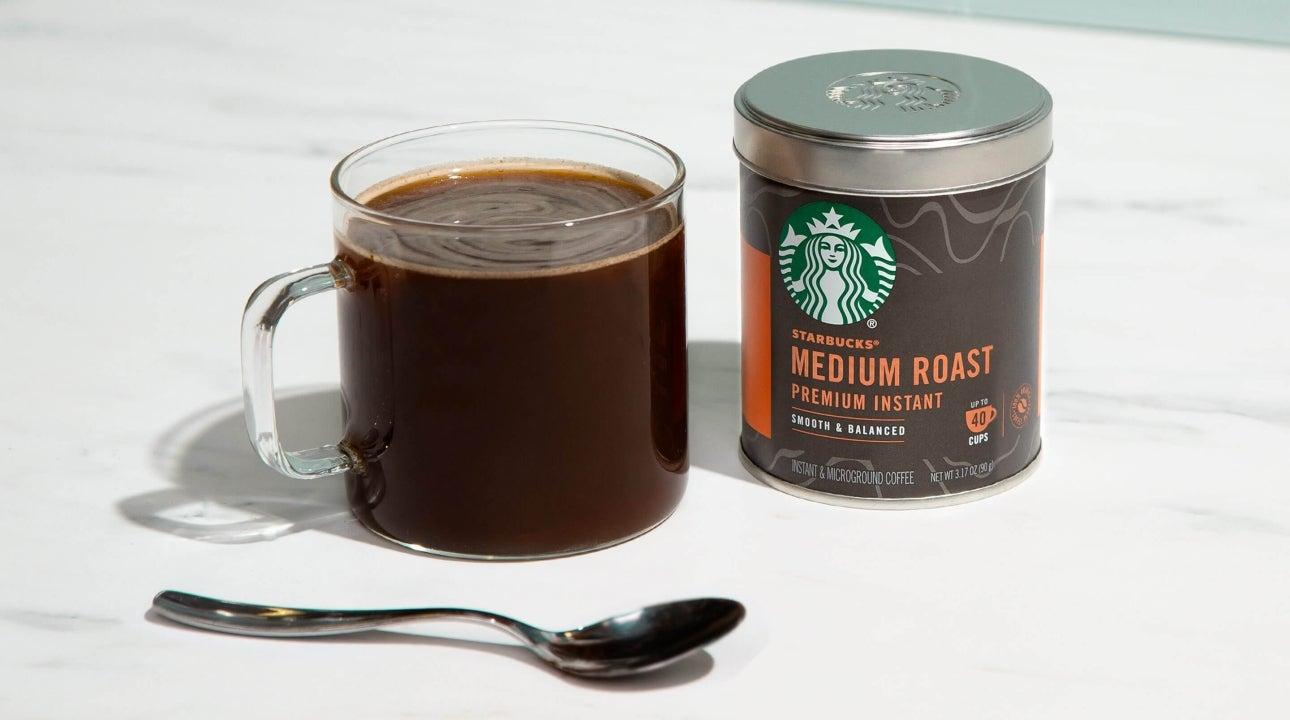 Starbucks Medium Roast Premium Instant Coffee